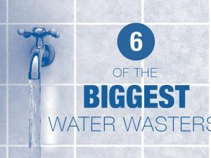 6 of the Biggest Water Wasters in Your Home