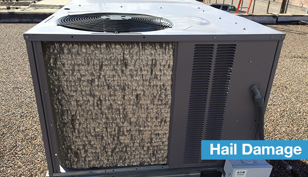 hvac-hail-damage