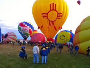 How to get on a chase crew for Balloon Fiesta