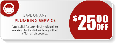 $25 Plumbing Services Coupon